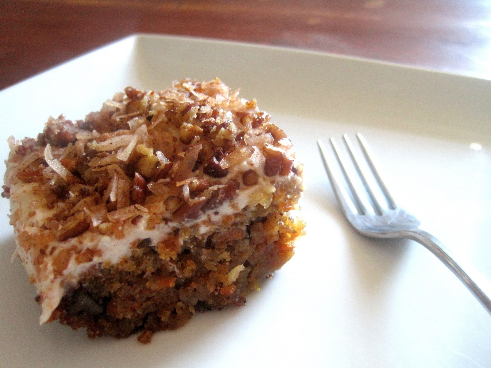 Living Beautifully On A Budget Carrot Cake With