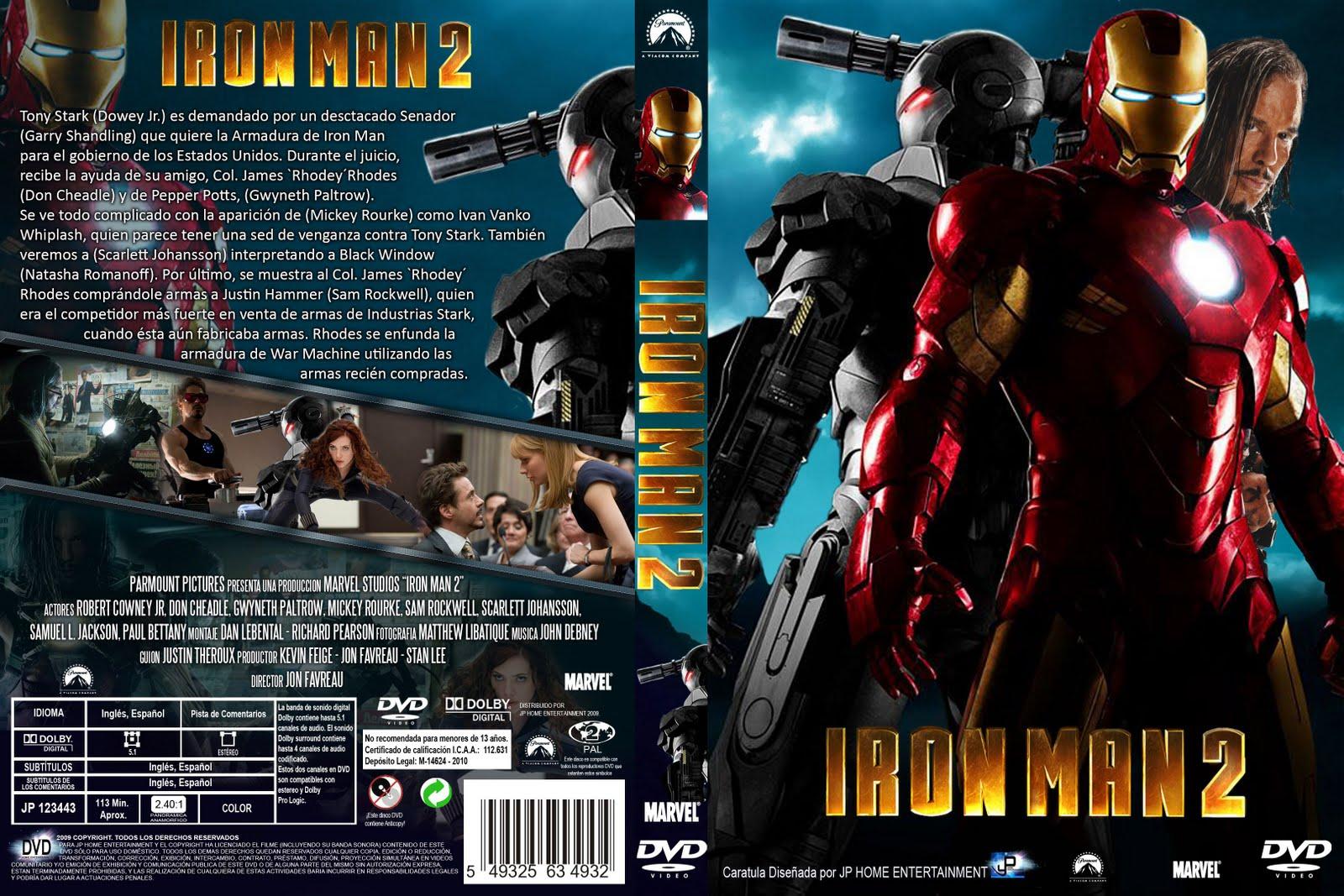 Descargar Iron Man 4 A2zp30: Series De Televisión Y Peliculas: Iron Man 2 [2010][Latino