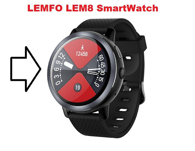 LEMFO LEM8 4G SmartWatch With 2GB RAM and 16GB ROM