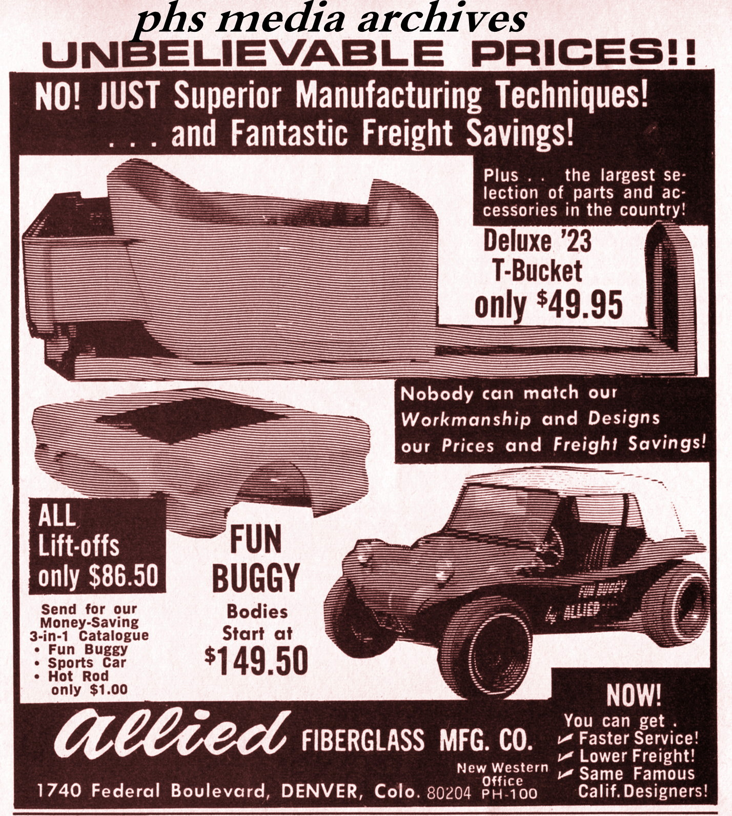 Summer Special On 1960s Dune Buggy Kits Phscollectorcarworld 1967 Vw Beetle Simple Wiring Diagram Allied Made A Bunch Of Fiberglass Parts Including Flip Front Ends For Dragsters Most Likely Places To Find The Fun Is In Mid West Region