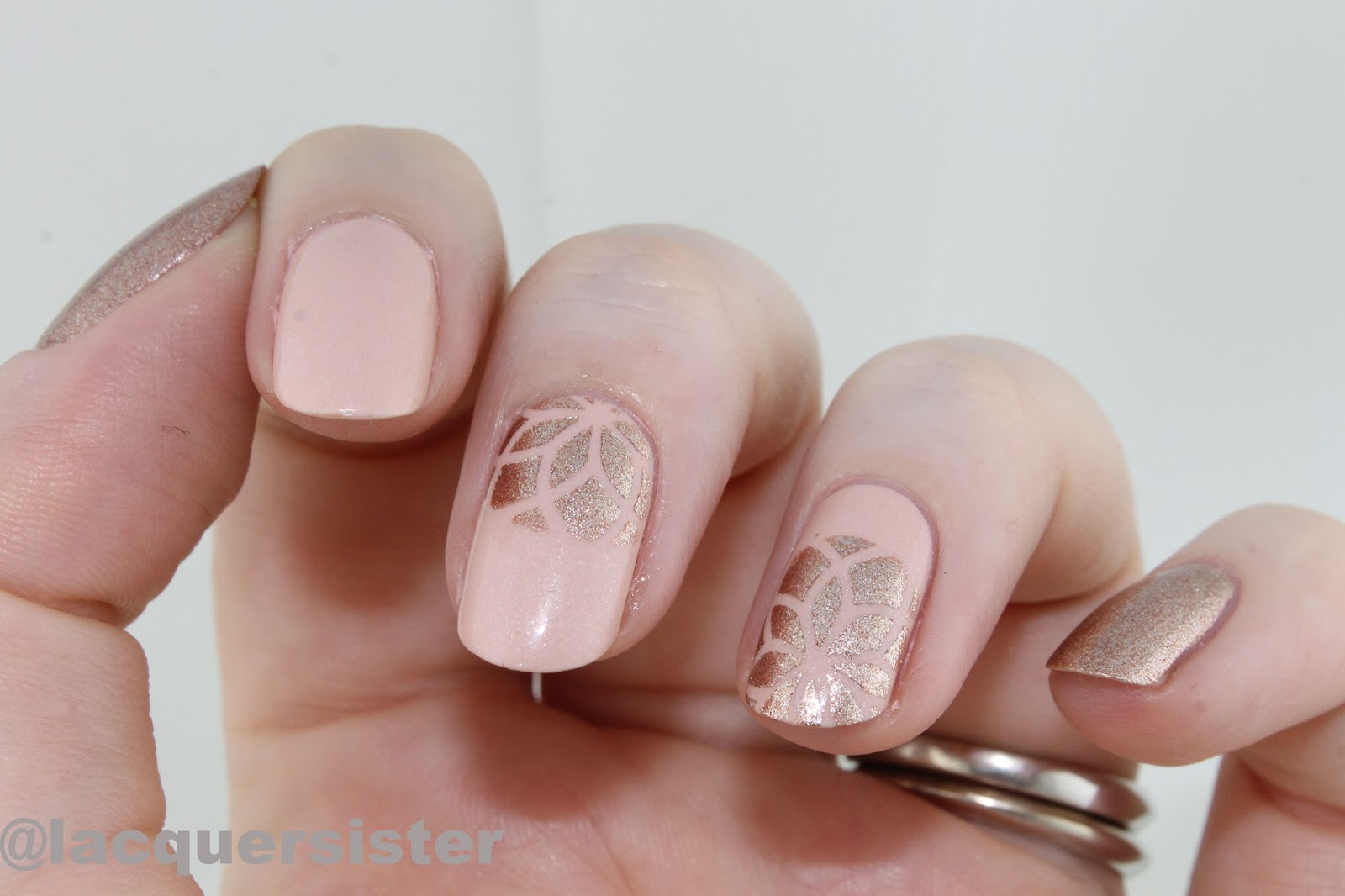 Lacquer Sister: Sinful Shine King Kylie nails