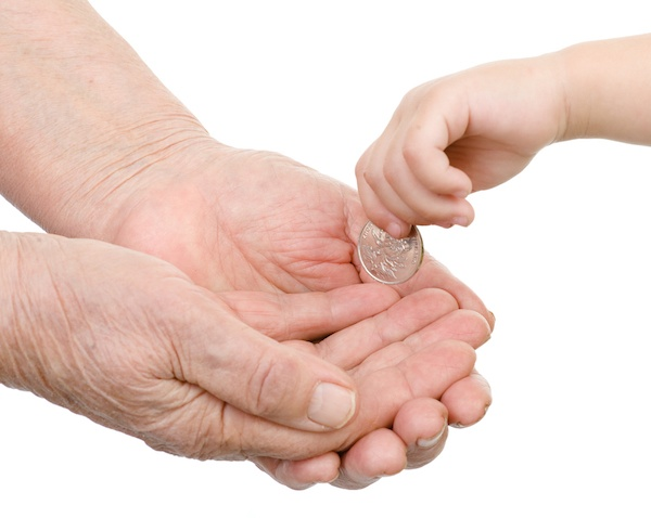 الأطفال والنقود