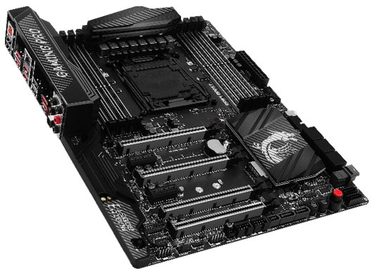 MSI X99A GAMING PRO CARBON Motherboard