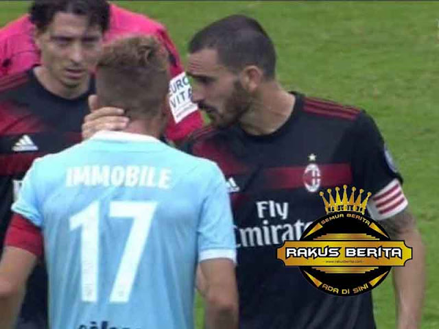 Cetak Hattrick Ke Gawang Milan, Bonucci Bertengkar Dengan Immobile