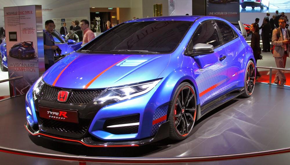 Хонда-Цивик Тайп-Р 2015