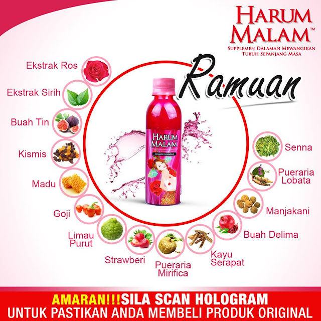 Harum Malam: A Must-Have Supplement Beverage To All Women.