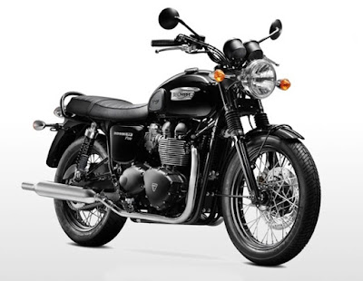 2016 Triumph Bonneville T100 Black Hd Picture