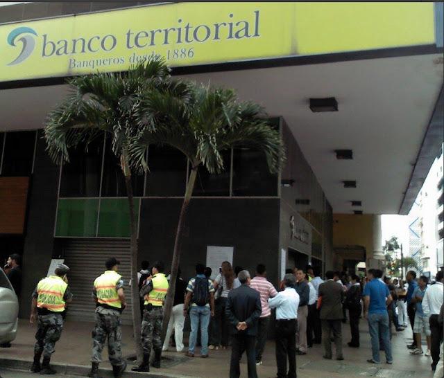 banco territorial cierre quiebra ecuador