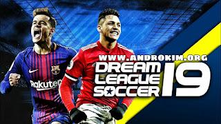 تحميل لعبة dream league soccer 2019 مهكرة للاندرويد جميع الشعارات صحيحة مع فريق جوفنتوس متكامل
