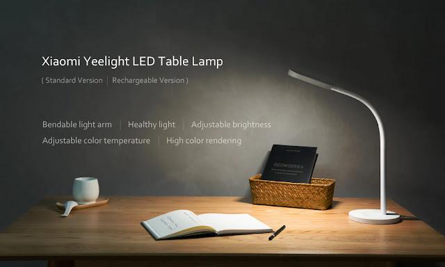 Coupon Xiaomi Yeelight YLTD02YL LED Table Light