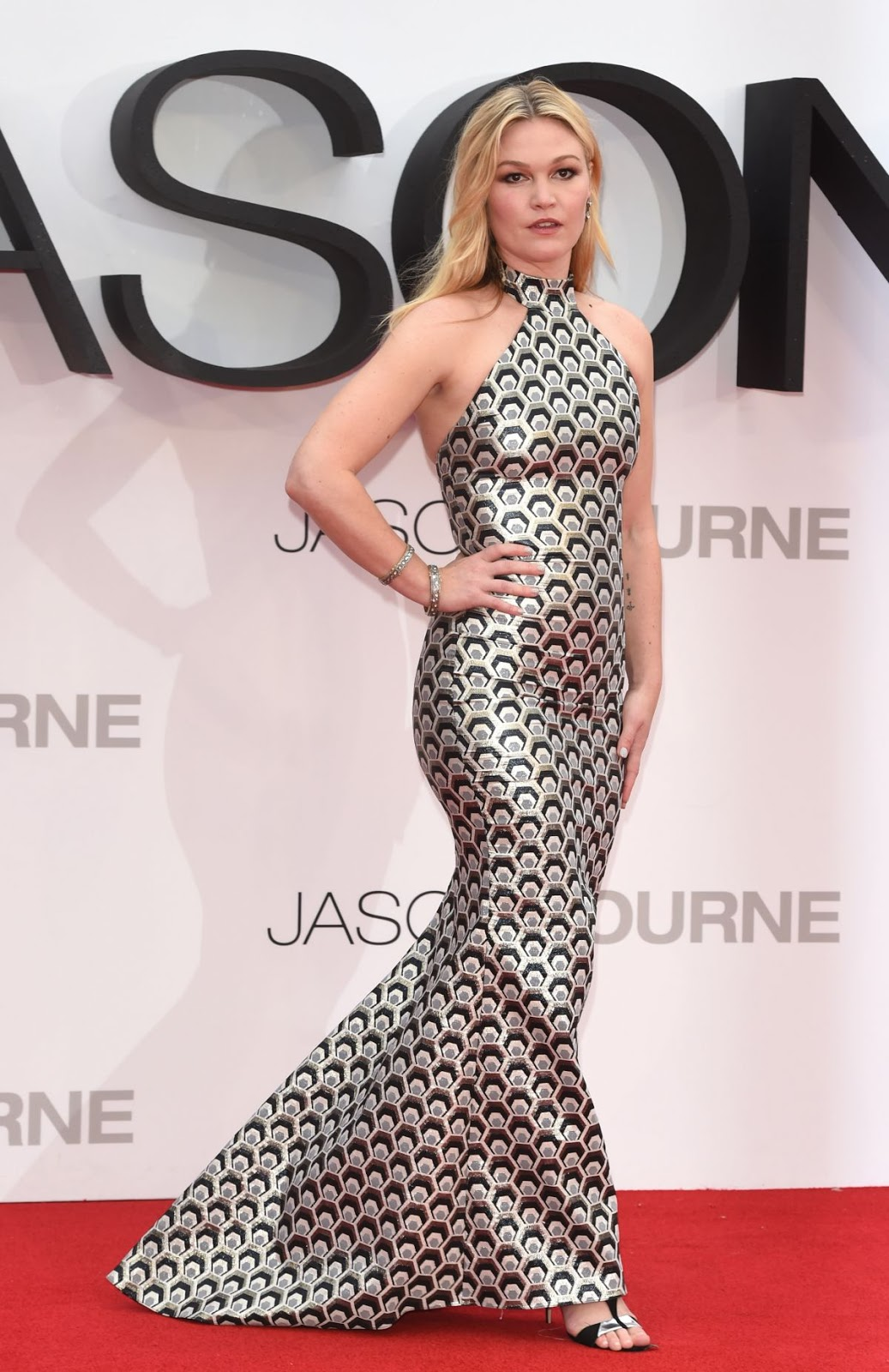 'Jason Bourne' actress Julia Stiles at Jason Bourne London Premiere