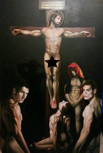 Jesus gay porno