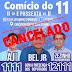 Eleições 2018:  Evento foi cancelado após divisão de horário determinada em acordo com juiz eleitoral!!