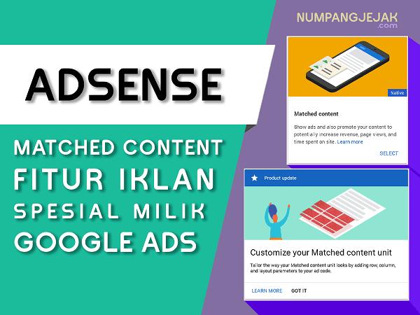 Mendapatkan Iklan Matched Content Adsense dan Beberapa Mitosnya