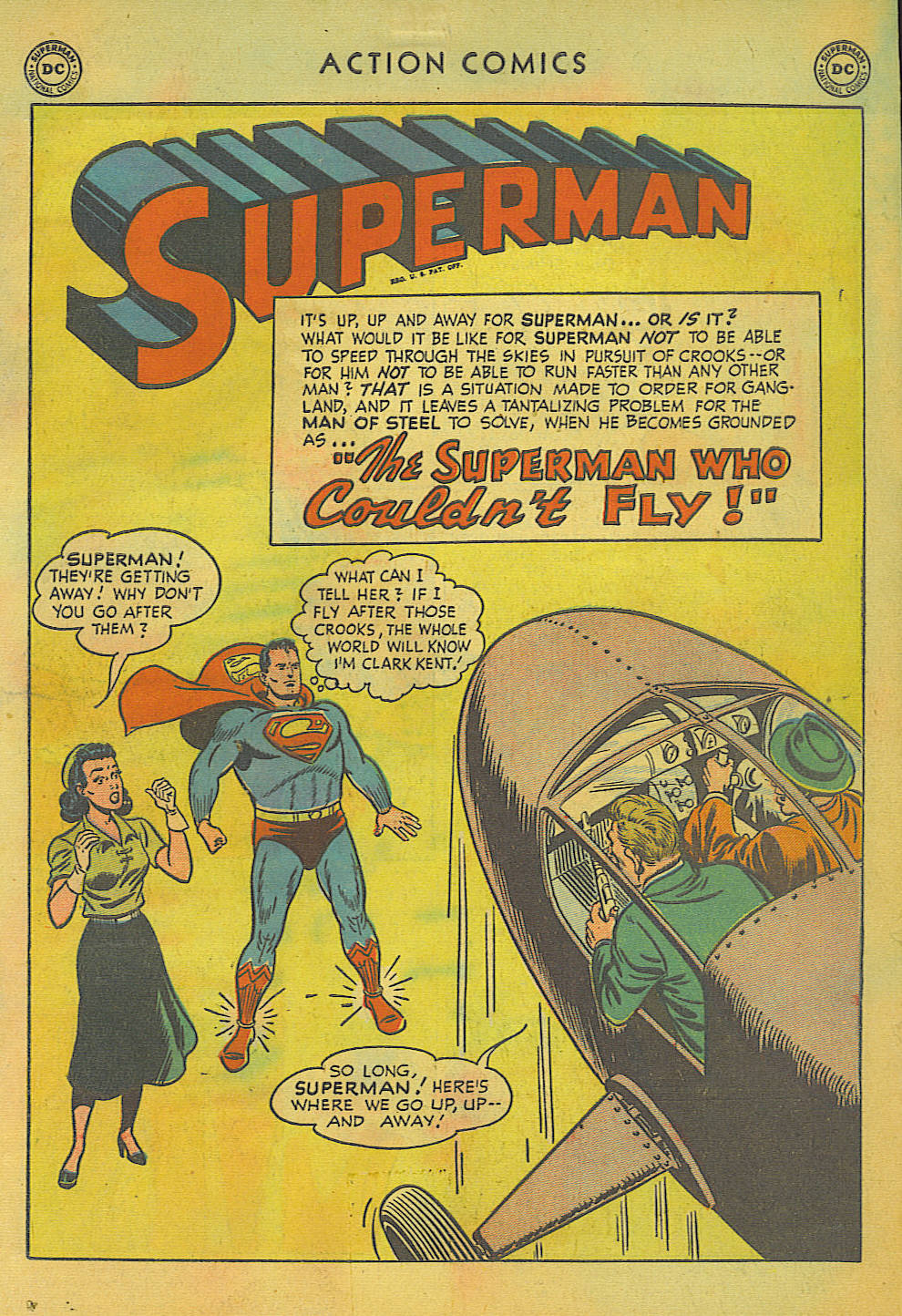 Read online Action Comics (1938) comic -  Issue #157 - 2