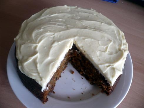 Dark Carrot Cake
