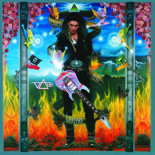 STEVE VAI - Passion And Warfare [Remastered 25th Anniversary Edition] (2016) full