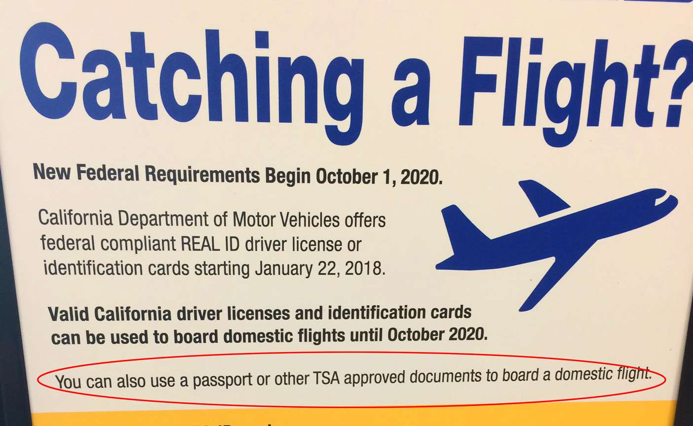 Drivers licenses now valid for air travel until 2020 thecheapjerseys Choice Image
