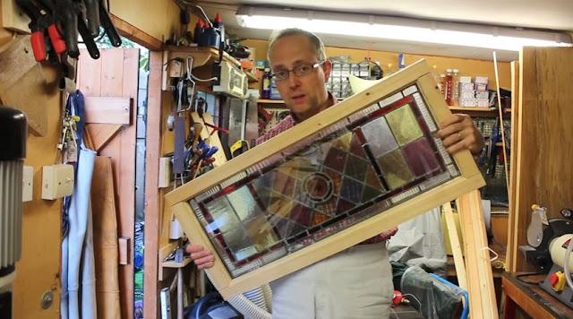 membuat jendela kayu
