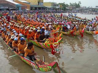 Om-oc-boc Festival of Khmer people 1