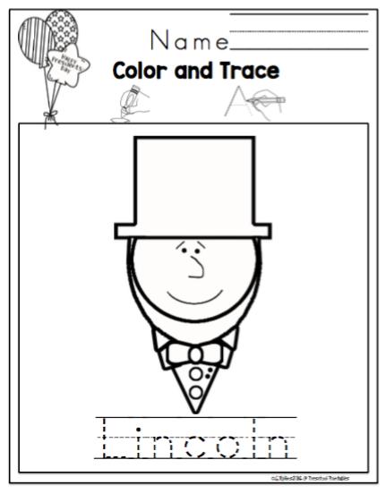 Presidents Day Printable ~ Preschool Printables