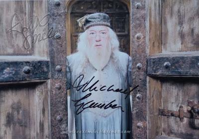 Michael Gambon Autograf Autograph Harry Potter  Albus Dumbledore