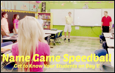 Name Game Speedball - Mis Clases Locas