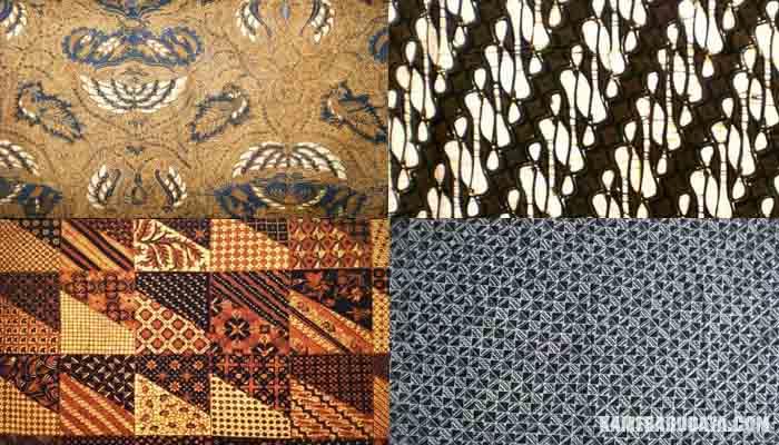 Inilah 10 Motif Batik Solo Lengkap Gambar dan Penjelasanya