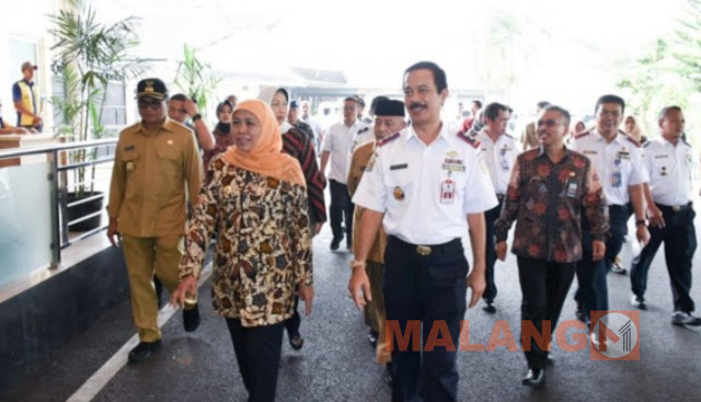 Kunjungi Bandara Abd Saleh, Khofifah : Abd Saleh Go Internasional