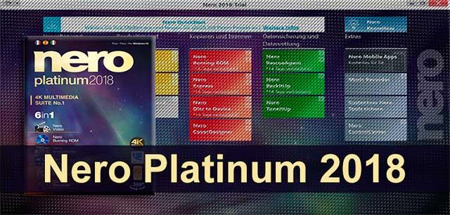 Nero 2018 Platinum La Suite más completa de Grabación