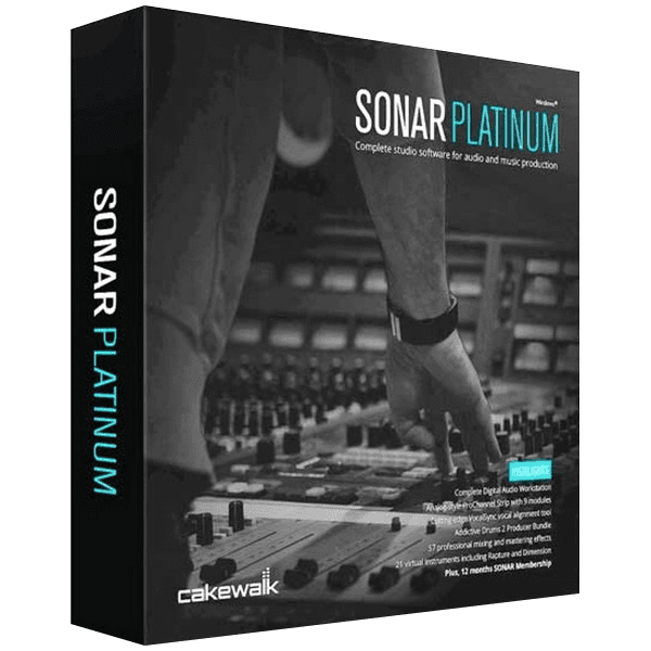 Cakewalk SONAR Platinum v23.10.0.14 + Contents Full version