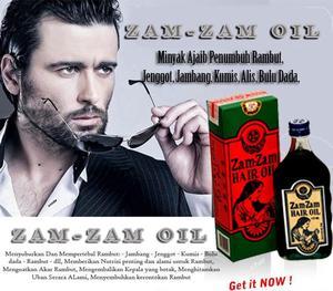 zamzam hair oil minyak mbr minyak kemiri penumbuh