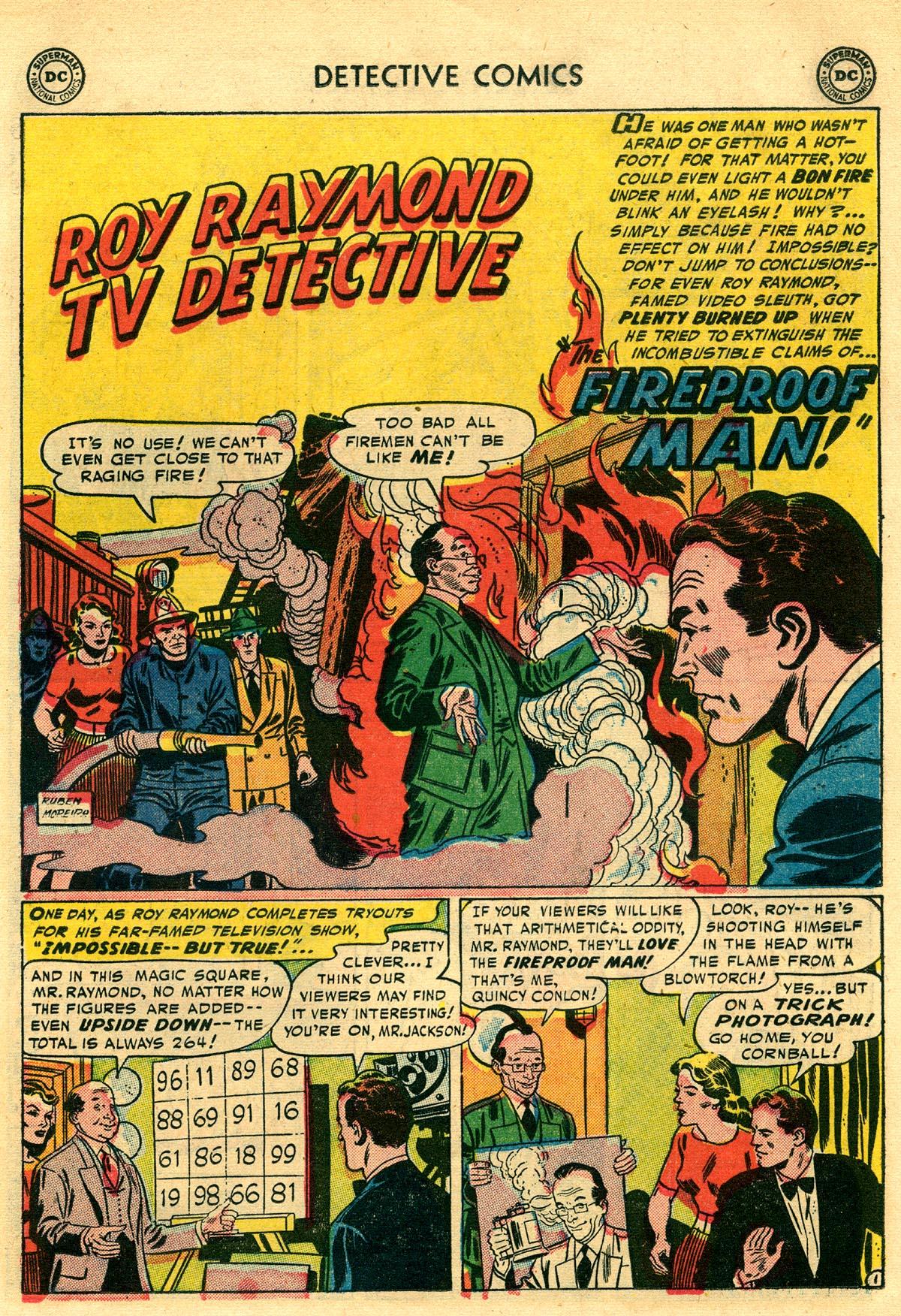 Read online Detective Comics (1937) comic -  Issue #203 - 17