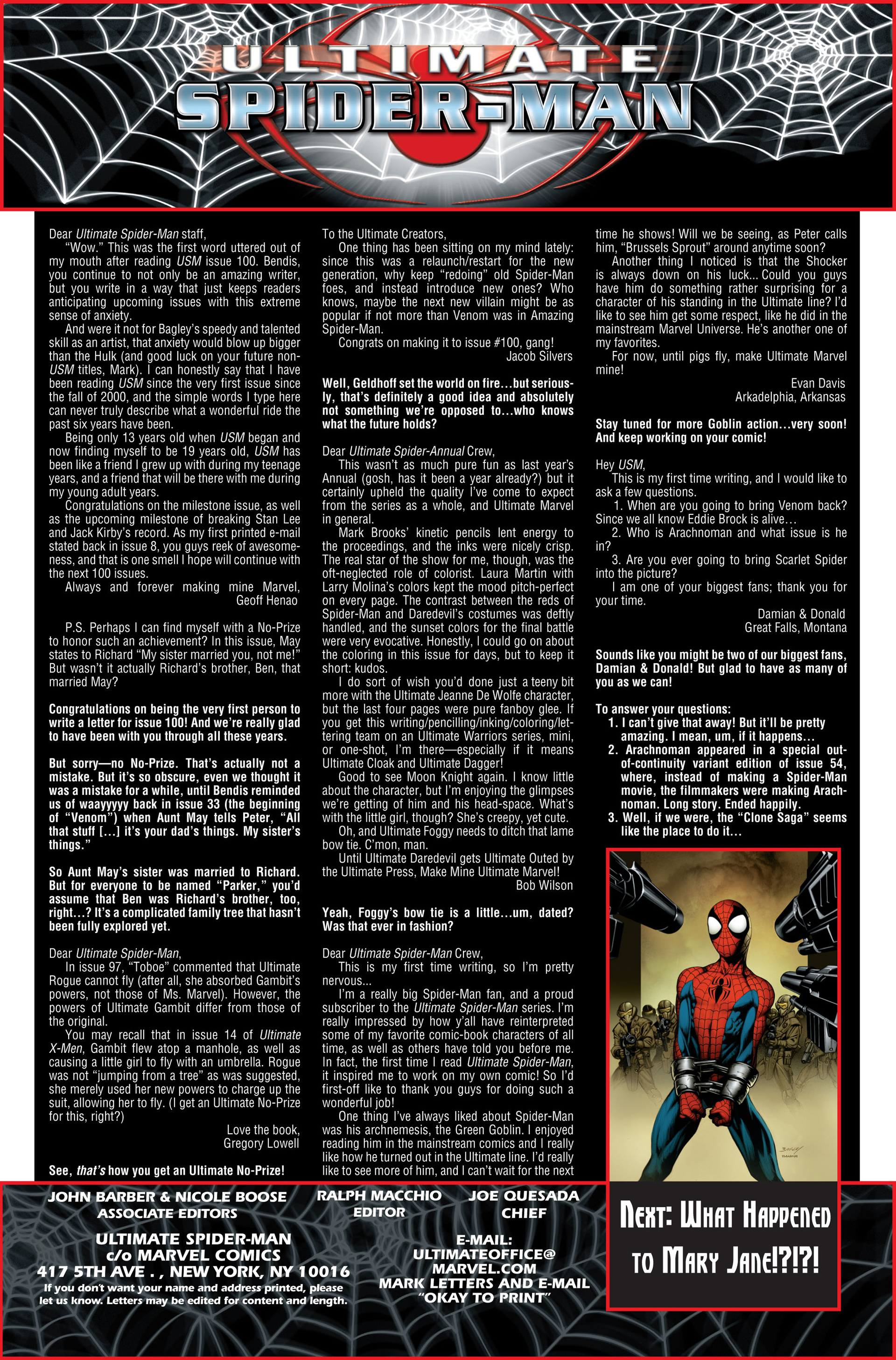 Read online Ultimate Spider-Man (2000) comic -  Issue #101 - 20