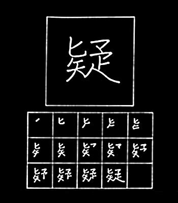 kanji doubt