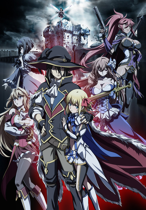 Anime Ulysses: Jeanne d'Arc to Renkin no Kishi, Fecha de estreno y reparto