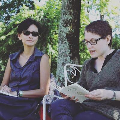 Sabine Huynh et Deborah Heissler