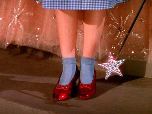 Zapatos de Dorothy de El Mago de Oz