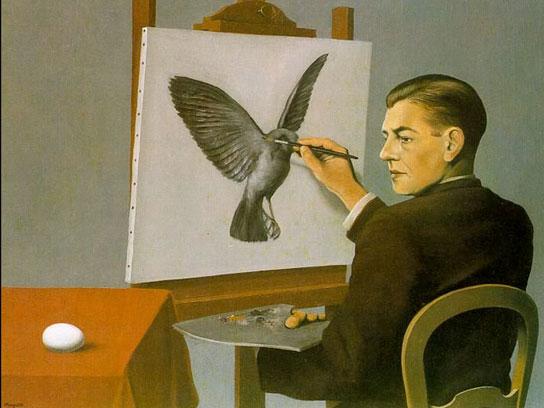 Chiaroveggenza Magritte