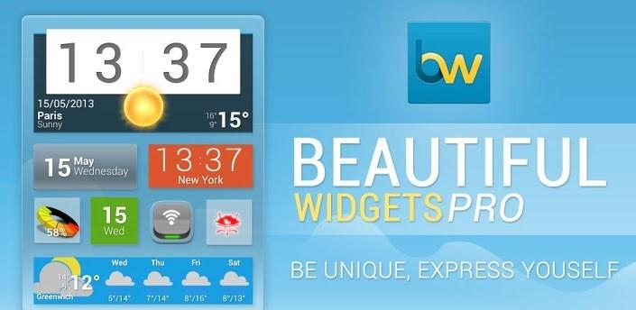 Beautiful Widgets 5.7.6 APK + Animation Pack Free Download