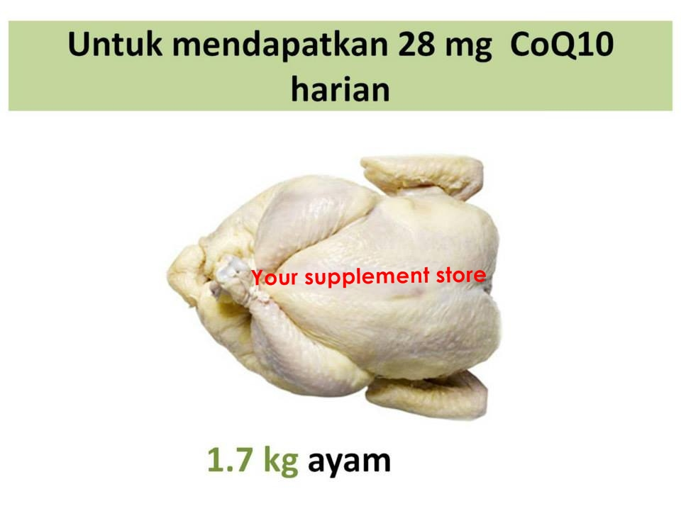 Makanan yang Mengandung Koenzim Q10 dan Fungsinya