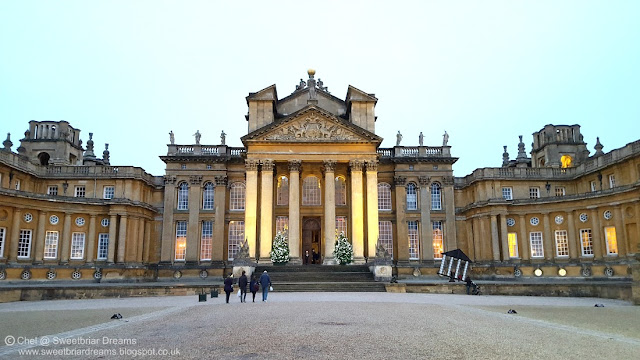 Blenheim Palace which started to be builtin 1705 and is now a World Heritage Site