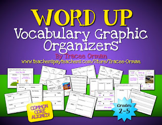 Editable Vocabulary Activities - Common Core Aligned http://www.teacherspayteachers.com/Product/Common-Core-Vocabulary-Graphic-Organizers-Grades-2-5