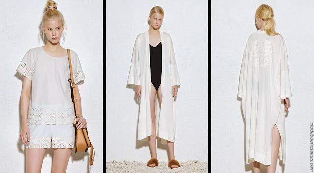 Moda 2018 ropa de mujer. Moda verano 2018 blusas, túnicas, shorts. Moda 2018.