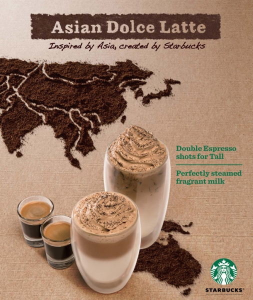 News Starbucks Launches Asian Dolce Latte Across Asia Brand Eating