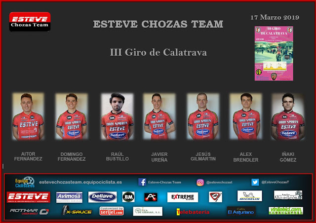 Convocatoria III Giro de Calatrava 2019