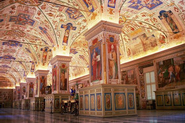 Museum Vatikan City Roma