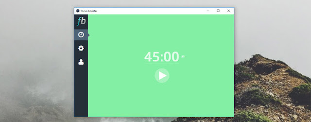 كفائة الوقت الإنتاجية ، تحسين كفائة الوقت الإنتاجية ، برنامج لتحسين كفائة الوقت الإنتاجية ، برنامج Focus Booster ، شرح برنامج FocusBooster