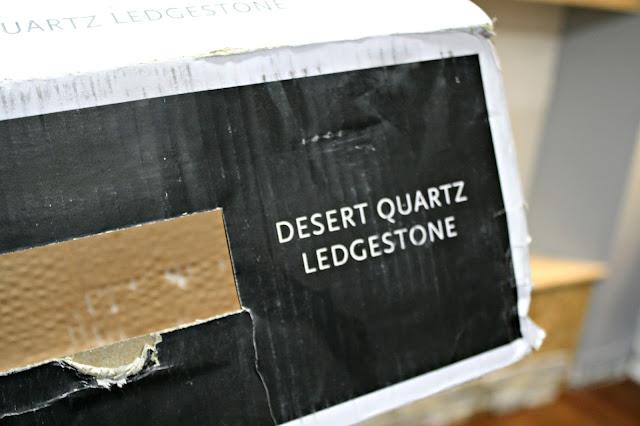 desert quartz ledgestone Lowe's