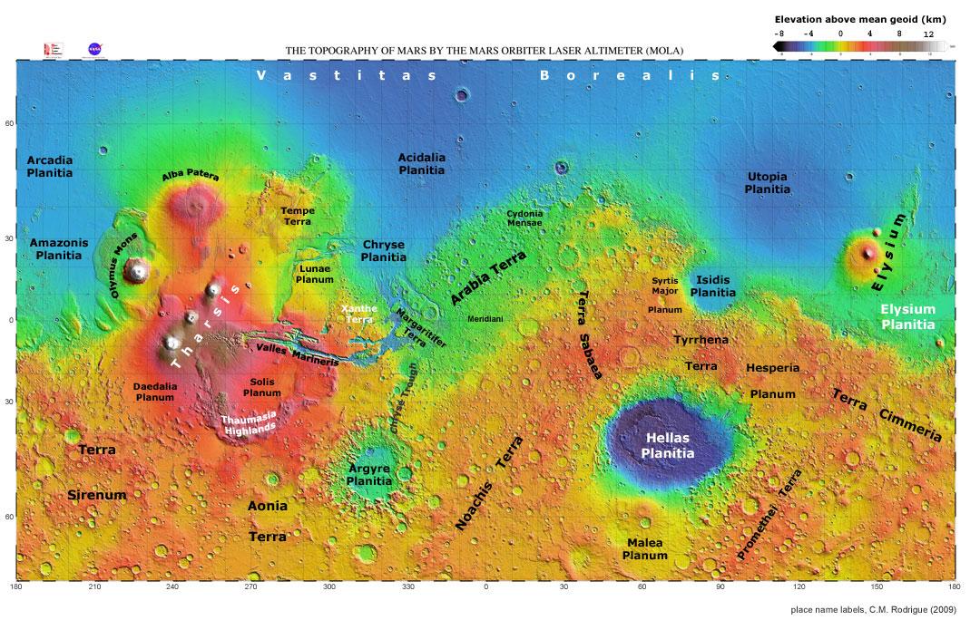 nasa mars maps - photo #23